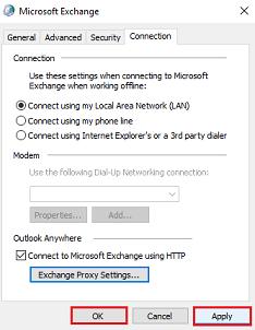 MS Exchange Manual Setup 6
